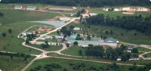 military boarding school campus-ranch