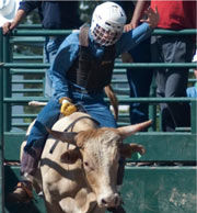 boarding school bull riding